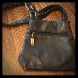 Giani Bernini Dark Brown Leather Purse